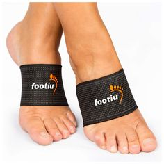 da8af42ba1 FOOTIU by AZMED - Compression Copper Arch Support Brace - 2 Plantar  Fasciitis Sleeves For Pain Relief, Heel Spurs and Flat Feet with Gel  Cushions Bonus
