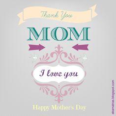 Mother's day card, #mothersday, #card, #freeprintablecard,