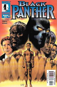 Black Panther # 5 Marvel Knights