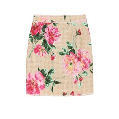 Bethenny today- Dolce & Gabbana Floral Woven Skirt