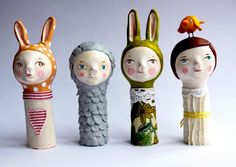 Quirky Finger Puppets