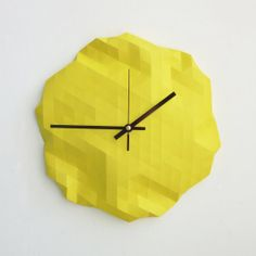 Faceted Wall Clock_RawDezign