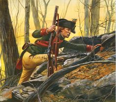 Jager, 3rd Company, Hess-Cassel Field Jager Corps 1776-1777