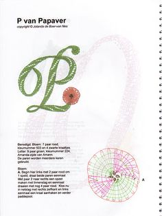 renda de bilros / bobbin lace letras / letters