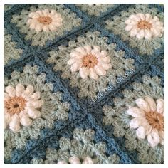 Good morning (daisy square by Tillie Tulip) by littledovecrochet
