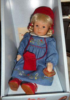 Käthe Kruse Petra – Christmas Doll – 40cm * type: Child of Fortune // Glückskind