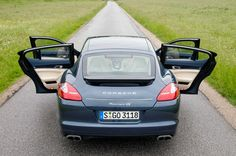 First Drive: 2010 Porsche Panamera a 4-door sedan 78 years in the making