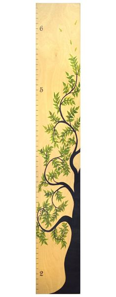 Amazon.com : Tree of Life Wooden Height Growth Chart | Wall Hanging Wood Height Chart for Children, Kids, Boy & Girls - Natural - WIDE VERSION : Nursery Growth Charts : Baby