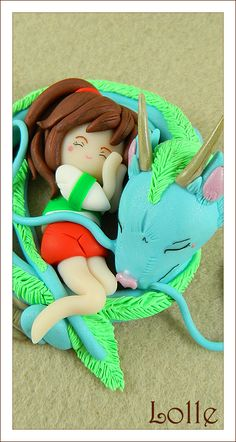 Spirited Away Figure by ~LolleBijoux. I need to do this! (it won't be as good as this one though)