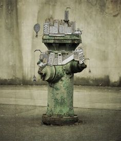 Wonderful artwork of Johan Thörnqvist an Sweden artist, mixed of real life photography with illustration. Art And Illustration, Photography Illustration, Character Illustration, Art Photography, Art Illustrations, Graffiti, Street Art, Street View, Urbane Kunst