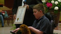 Owen Dumm's day started out like any other. He had just finished mass at Saint Albert the Great and was getting ready to go back to class, when he was surprised b…