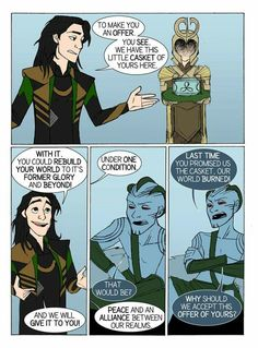 Peace with Jotunheim by Dkettchen on DeviantArt. Page 2