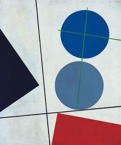 Sophie Taeuber-Arp (swiss, 1889-1943) | Composition, 1931 | ) artist, painter, sculptor, textile designer, furniture and interior designer, architect and dancer.  She is considered one of the most important artists of concrete art and geometric abstraction of the 20th century.