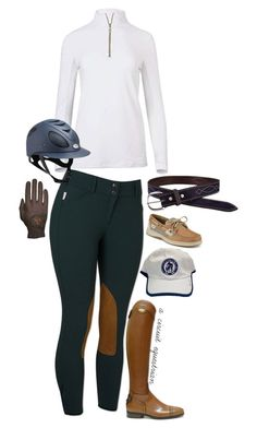 """""""can't wait for wihs!!"""" by a-circuit-equestrian on Polyvore featuring Sperry and Roeckl"""
