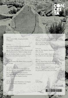 Concreta - #01 | Digital Magazine | visualMANIAC