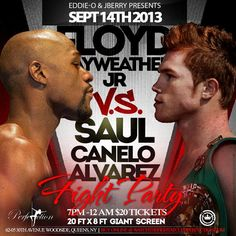 Mayweather Vs Canelo Fight Party @ Club Perfection Saturday September 14, 2013