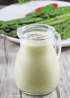 Sos musztardowy | AniaGotuje.pl Glass Of Milk, Sauces, Hot, Dips, Gravy