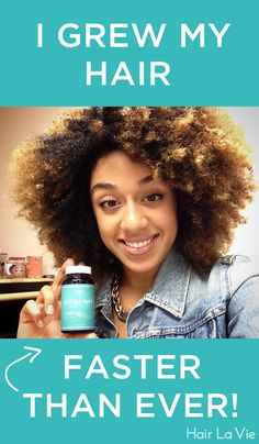 Grow healthier, fuller, longer hair with all-natural ingredients! See why of customers recommend Hair La Vie to a friend. Pelo Natural, Natural Hair Tips, Natural Hair Styles, Going Natural, Natural Baby, Natural Curls, Afro, Baking Soda Shampoo, Dry Shampoo