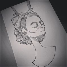 danilotm on Instagram #desenho #ilustração  #draw #illustration #rabisco #drawing #sketch #design #sp #feeling #tattoo #tatuagem #theend #mugshot #portrait