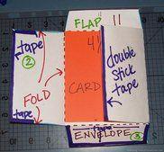 how-to-make-envelopes for homemade cards