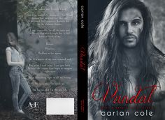 Cover Reveal & Giveaway  ~ Vandal (Ashes & Embers #2) by Carian Cole