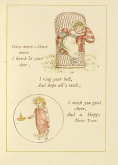 Kate Greenaway's Almanack for 1886