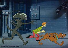 Alien/Scooby-Doo