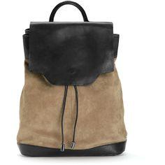 Rag & Bone Pilot Backpack - Camel ($510) ❤ liked on Polyvore featuring bags, backpacks, accessories, purses, camel, leather knapsack, camel backpack, genuine leather backpack, knapsack bags and handle bag