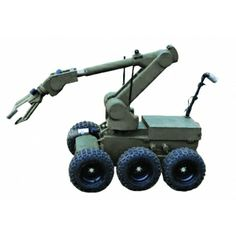 EOD Robots designed to enhance the functionality of EOD/IEDD robot. The robot can be used for quick reconnaissance of field and places difficult to access. Mobile Robot, Uk Tv Shows, Cool Robots, Robot Arm, Arduino Projects, Robot Design, Mechanical Engineering, Circuits, Robotics