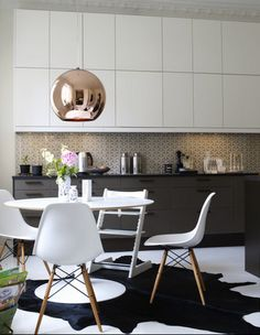 Simple kitchen ikea Genau so in den Farben will ich meine K che selbst die Kupfer Lampen will