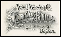 William H. Wood & Company   Sheaff : ephemera