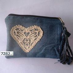 Nº 17 - Necessaire coração (VENDIDA) - 7282 Ecoluxo