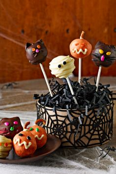 494 best halloween recipes images on pinterest halloween prop halloween monster cookie balls cookie balls are famously easy to make treats forumfinder Gallery