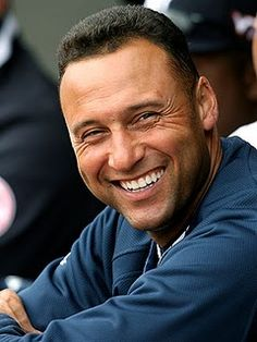 Derek Jeter  - one of the nicest players in baseball...always has time for an autograph.