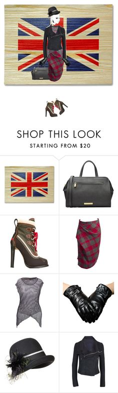 """A mixed bag but Vivienne is still there...."" by diannecollier ❤ liked on Polyvore featuring moda, Marc by Marc Jacobs, Dsquared2, Vivienne Westwood, Overland Sheepskin Co. e Rick Owens"