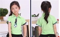 2013 nueva kindergarten alumnos uniformes uniforme fabricantes pedidos servicio niños traje de verano en China Merchants