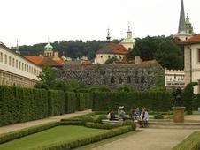 Wallenstein gardens Prague