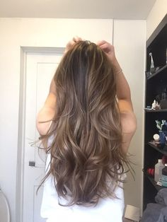 &Hair Lounge - Manhattan, NY, United States. Ash blonde balayage highlights/haircut by Kasuki! 2015