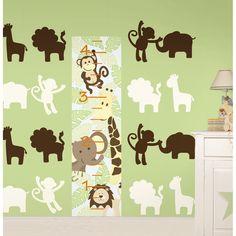 WallPops Jungle Nursery Combo Bundle Vinyl Wall Art | Overstock.com