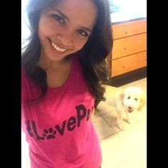 """""""@johnjayvanes did our channel 12 interview tonight while sporting my #lovepup shirt :) watch us tonight on channel 12 at 10pm talking about dogs and dog…"""""""