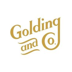 Follow us @twinelogos _ Golding & Co. by @BrainvsBraun _ Join our community collaborate and get paid work  _  www.twine.fm @jointwine
