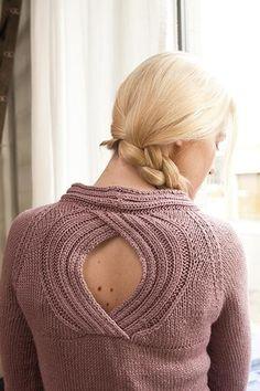 Janus Cardigan - Knitting Patterns and Crochet Patterns from KnitPicks.com