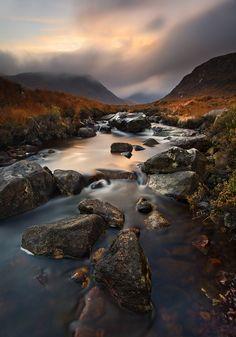 The poisoned glen, Donegal, Ireland