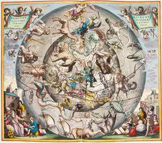 'Harmonia Macrocosmica', Andreas Cellarius