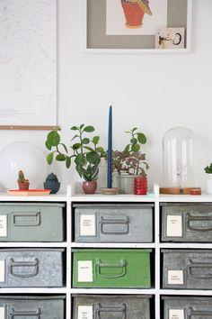 Design Industrial, Industrial Vintage, Diy Interior Design Ideas, Diy ...