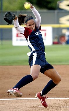 Cat Osterman <3 The lady that inspired me to get back on that mound and not give up.