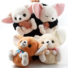 picture of Feneky the Fennec Fox Picnic Plushies (Big) 20
