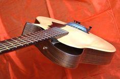 Custom Bass Guitar, Archtop Guitar, Acoustic Guitars, Unique Guitars, Guitar Design, Tortoise, Wood, Modern, Blackwork