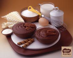 Mousse de chocolate intenso
