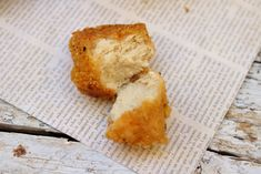 Tofu nuggets- this breading looks pretty good and the tofu gets its texture from freezing first and its flavor by marinating it in broth. #lunch #dinner #maindish